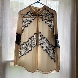Gemma 100% silk shirt
